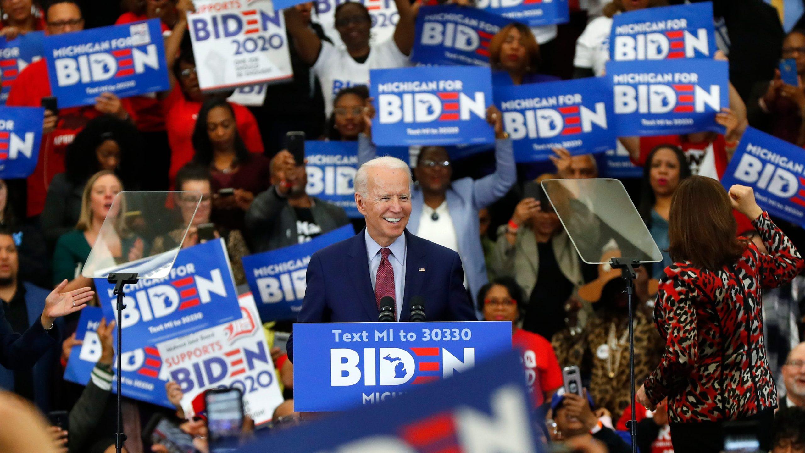 Biden 2020 Michigan Rally